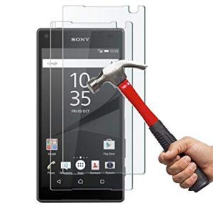 Защитное стекло 2.5D Ultra Tempered Glass для Sony Xperia Z5 Compact – Clear