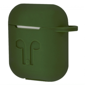 Чехол для наушников Silicone Case для Apple Airpods – Green