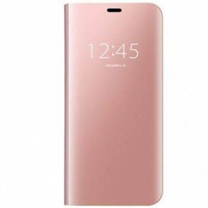 Чехол-книжка Clear View Standing Cover для Samsung Galaxy A50 2019 (A505) / A50s 2019 (A507) / A30s 2019 (A307) — Розовый