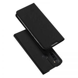 Чехол-книжка Dux Ducis с карманом для Xiaomi Redmi Note 8 — Черный