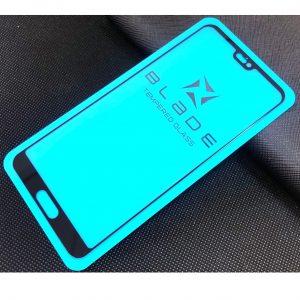 Защитное стекло 3D (5D) Perfect Glass Full Glue Blade на весь экран для Huawei P20 – Black