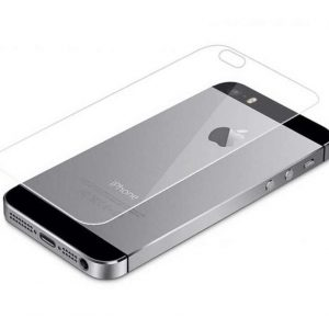 Защитное стекло 2.5D Ultra Tempered Glass на зад для Iphone  5 / 5s / 5C / SE — Clear
