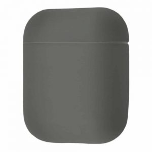 Чехол для наушников Silicone Case Ultra Slim для Apple Airpods – Gray