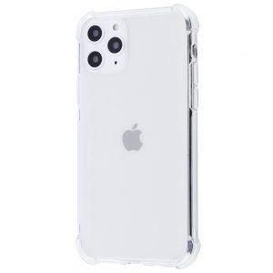 Прозрачный силиконовый TPU чехол с усиленными углами для Iphone 11 Pro