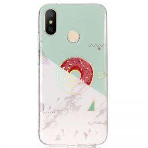 Чехол TPU Marble Series с рисунком для Xiaomi Mi Mix 2S – Пончик