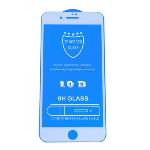 Защитное стекло 10D Full Glue Cover Glass на весь экран для Iphone 7 / 8 – White