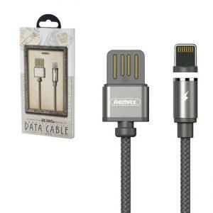 Кабель Remax RC-095i Gravity Series Magnetic Cable Lightning 1.5A (1м)- Black