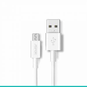Кабель Aspor A-171 USB to MicroUSB 2.1A (1.2м) – White