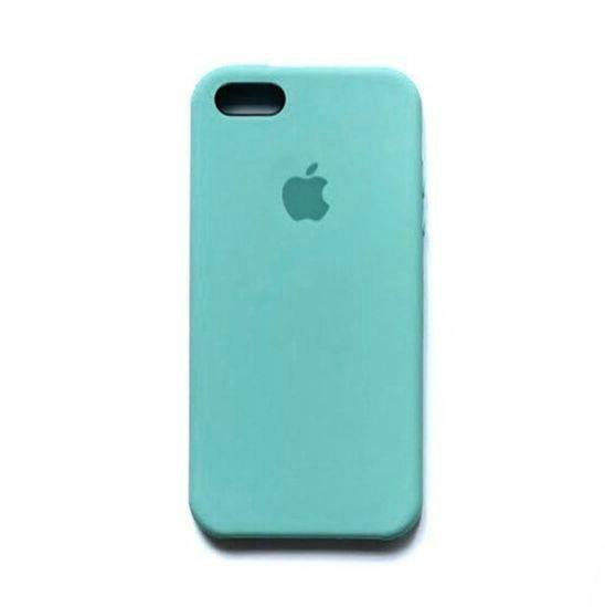 Оригинальный чехол Silicone Case с микрофиброй для Iphone 6 Plus / 6s Plus №23 – Mint