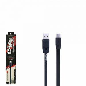 Кабель REMAX RC-001m USB to MicroUSB (2м) – Black