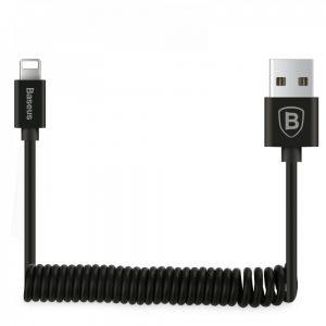Кабель Baseus Elastic Data Lightning Cable 1.8A (1.6м) – Black