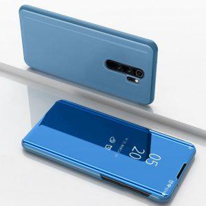 Чехол-книжка Clear View Standing Cover для Xiaomi Redmi Note 8 Pro — Синий