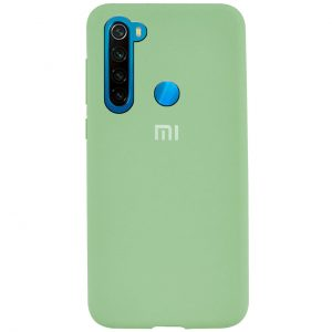 Оригинальный чехол Silicone Cover 360 с микрофиброй для Xiaomi Redmi Note 8 – Light Green