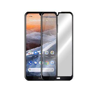 Защитное стекло 2.5D (3D) Full Cover на весь экран для Nokia 3.2 – Black