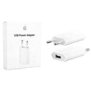 Оригинальное сетевое зарядное устройство Apple ORIGINAL Power Adapter 1USB 1A – White