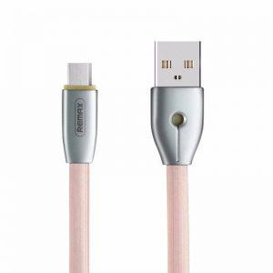 Кабель REMAX RC-043m USB to MicroUSB (1м) – Розовый
