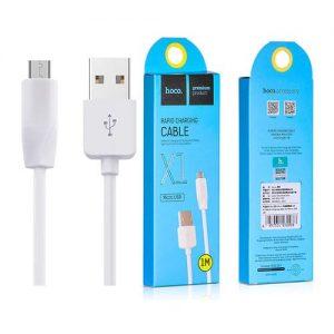 Кабель Hoco X1 USB to MicroUSB (1м) – White