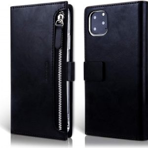 Чехол книжка Molan Cano Zipper Bestie bag для  Iphone 11 Pro —  Черный