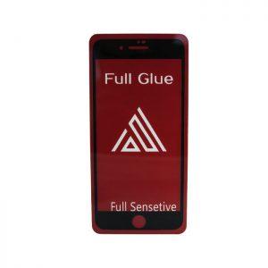 Защитное стекло 3D (5D) Perfect Glass Full Glue Inavi на весь экран для Iphone 7 / 8 — Black