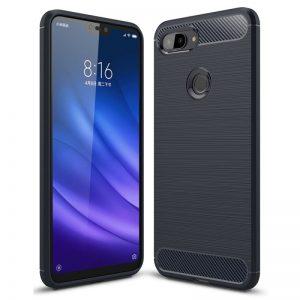 Cиликоновый (TPU) чехол Slim Series  для  Xiaomi Mi 8 Lite / Mi 8 Youth (Mi 8X) – Черный