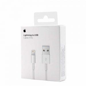 Дата – кабель Apple Lightning to USB A+ quality in box (1м) – Белый