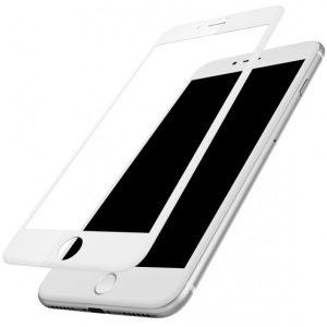 Защитное стекло Mocolo 3D (5D) Premium 9H Full Glue на весь экран для Iphone 7 Plus / 8 Plus — White