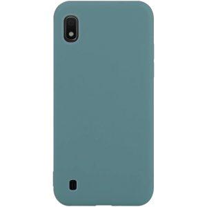 Силиконовый чехол Epic матовый soft-touch для Samsung Galaxy A10 2019 (A105) — Синий