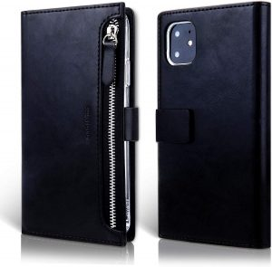 Чехол книжка Molan Cano Zipper Bestie bag для iPhone 11 (6.1″) — Черный