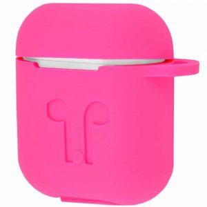 Чехол для наушников Silicone Case для Apple Airpods – Pink