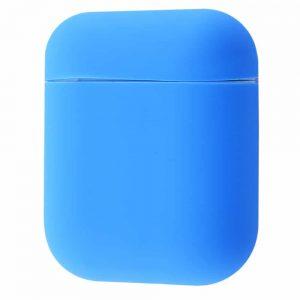 Чехол для наушников Silicone Case Slim New для Apple Airpods 2 – Tahoe blue