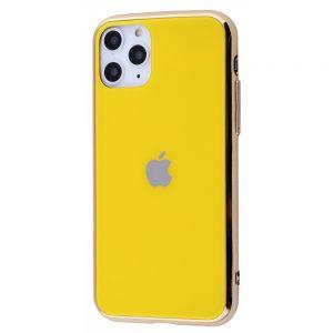 Оригинальный чехол Glass Case для  iPhone 11 Pro — Желтый