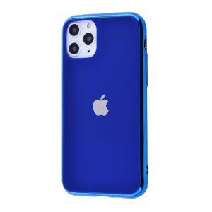 Оригинальный чехол Glass Case для  iPhone 11 Pro — Синий