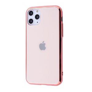 Оригинальный чехол Glass Case для  iPhone 11 Pro Max — Розово-золотой