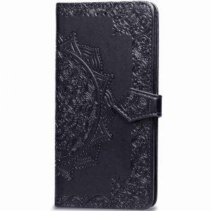 Кожаный чехол-книжка Art Case с визитницей для Xiaomi Mi A3 / CC9e – Черный