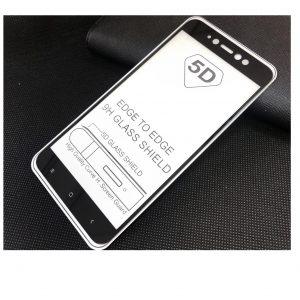 Защитное стекло 5D Full Glue Cover Glass на весь экран для Xiaomi Redmi Note 5A / Note 5A Prime – Black