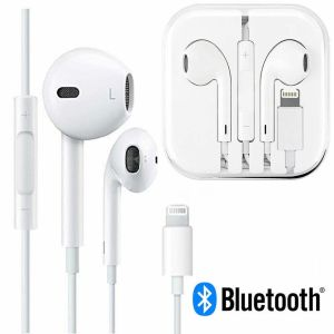 Наушники EarPods with Lightning Bluetooth Connect – White