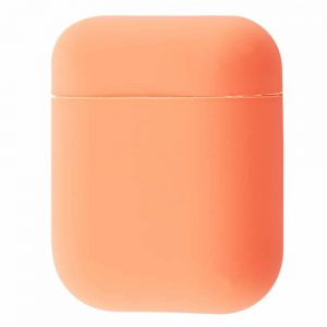 Чехол для наушников Silicone Case Slim New для Apple Airpods 2 – Bright pink