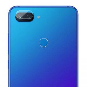 Защитное стекло на камеру для Xiaomi Mi 8 Lite / Mi 8 Youth (Mi 8X) (Прозрачное)