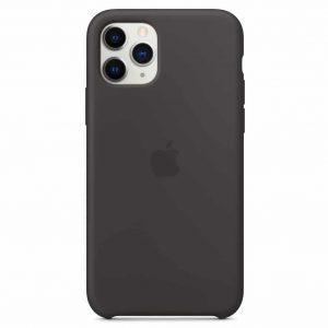 Оригинальный чехол Silicone case + HC для Iphone 11 №7 – Black
