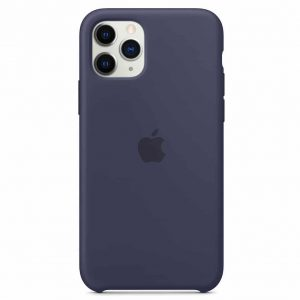 Оригинальный чехол Silicone case + HC для Iphone 11 Pro – Синий / Midnight Blue
