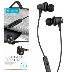 Наушники Celebrat G5 Stereo Music – Black