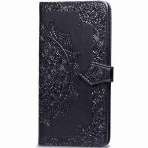 Кожаный чехол-книжка Art Case с визитницей для Xiaomi Mi 9 Lite / Mi CC9 – Черный