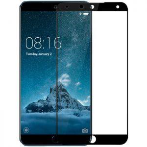 Защитное стекло 2.5D (3D) Full Cover на весь экран для Meizu 15 — Black