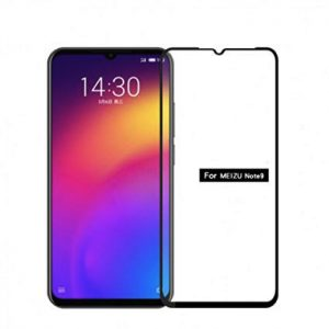 Защитное стекло 3D (5D) Full Glue Armor Glass на весь экран для Meizu Note 9 – Black