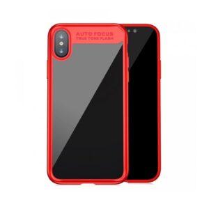 TPU+PC чехол Baseus Auto Focus для Iphone X / XS – Красный