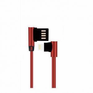 Кабель Kucipa K184 MVP Lightning круглый 2.5A (100см)- Красный