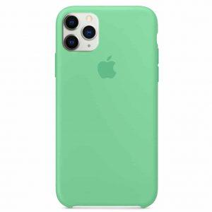 Оригинальный чехол Silicone case + HC для Iphone 11 Pro – Зеленый / Spearmin