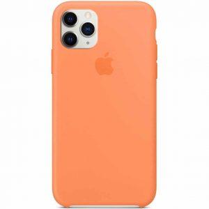 Оригинальный чехол Silicone case + HC для Iphone 11 Pro – Оранжевый / Papaya