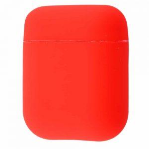 Чехол для наушников Silicone Case Slim New для Apple Airpods 2 – Red