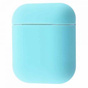 Чехол для наушников Silicone Case Slim New для Apple Airpods 2 – Turquoise